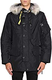 Parajumpers Men's PMJCKMA02KODIAK541 Black Polyester Outerwear Jacket