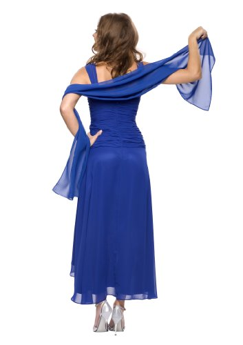 astrapahl Co6021ap, Robe Femme, Noir Bleu - Bleu