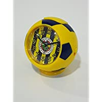 Fan Uhr Tischuhr Fußball Wecker Fenerbahce Istanbul FB 1907 Streifen/Fenerbahçe Istanbul Alarmlı Masa Saati