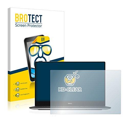 BROTECT Schutzfolie kompatibel mit Dell XPS 13 9360 - kristall-klare Bildschirmschutz-Folie, Anti-Fingerprint