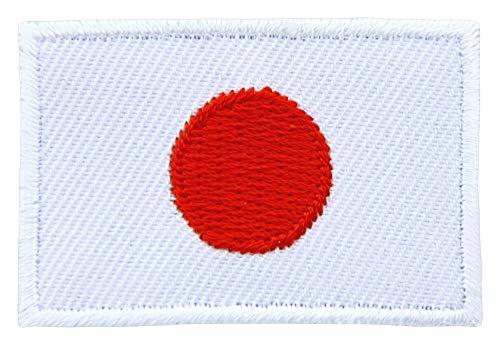 Parche de la Bandera de Japón tamaño pequeño