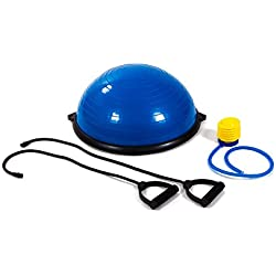Bosu balanced trainer ball pelota de Gimnasia Pilates-Yoga