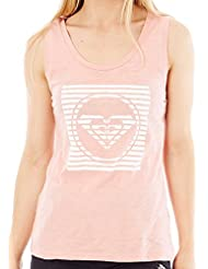 Roxy Billy B Top Camiseta, Mujer, Rosa (Rosa/Solid), M