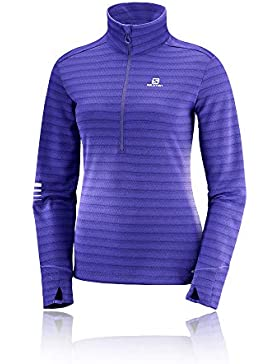 Salomon Lightning HZ Mid W - Jersey, Mujer, Multicolor(Deep Blue/Parachute Purple)