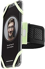 Bone Run - Fascia da braccio per telefono cellulare da corsa per iPhone 12 11 Pro Max XS XR X 8 7 6 Plus Samsu