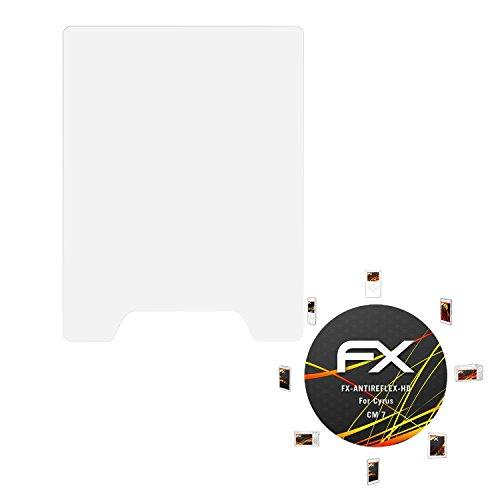 atFolix Schutzfolie kompatibel mit Cyrus cm 7 Bildschirmschutzfolie, HD-Entspiegelung FX Folie (3X)