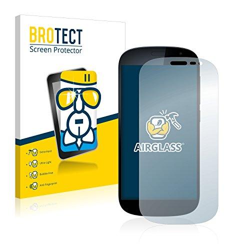 BROTECT AirGlass Protector Pantalla Cristal Flexible Transparente para Yota Devices YotaPhone 2...