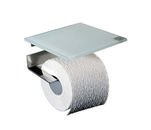 wc rollenhalter toilettenpapierhalter mit abstellfl che. Black Bedroom Furniture Sets. Home Design Ideas
