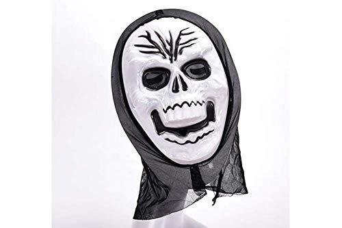 YP Dickes Skelett Schädel Ghost Death Halloween Balaclava Gesichtsmaske Für Cosplay Costumetricky Requisiten,04