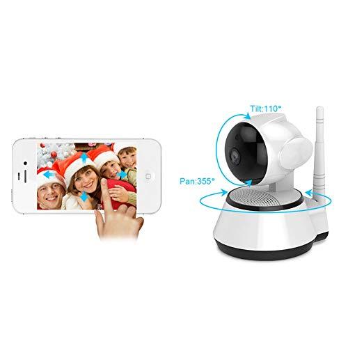 Caméra de Surveillance WiFi Domestique Voix bidirectionnelle Cardan de  réseau Domestique OEM Approprié au Moniteur de Maison/Bureau/bébé/Animal
