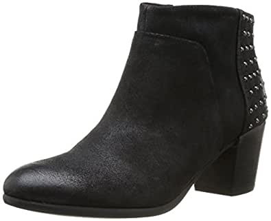 Geox D Lucinda, Boots femme - Noir (Black), 35 EU