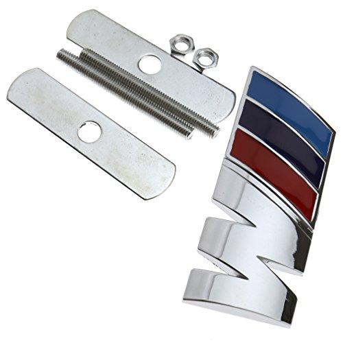 M Logo Vorne PLAKETTE Emblem Metall Schriftzug Badge Aufkleber Für BMW X3 X5 X6