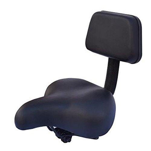 MiYan Fahrradsattel tragbar, bequemer Fahrradsitz für Damen und Herren, bequem, gesunder Gel-Fahrradsattel gepolstert, breiter Sitzbezug