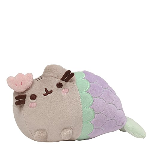 Gund Pusheen Shell Mermaid Stuffed Cat Plush, 7