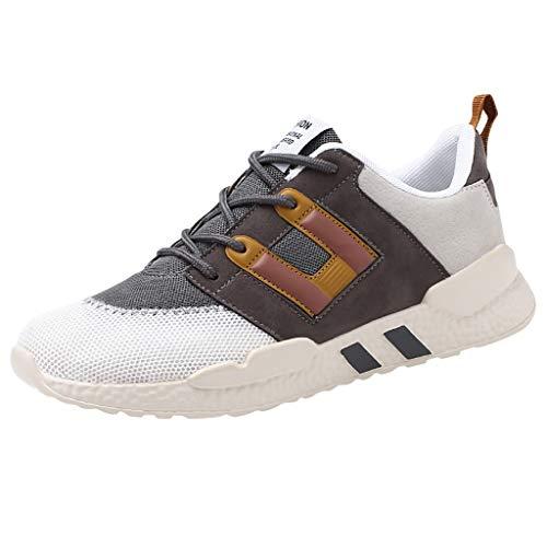 ABsoar Sneakers Mode Herren Sportschuhe Mesh Atmungsaktiv Studenten Laufschuhe Casual Turnschuhe Bequeme Joggingschuhe Freizeitschuhe Wanderschuhe