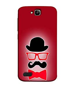 PrintVisa Stunning Things for Male 3D Hard Polycarbonate Designer Back Case Cover for Huawei Honor Holly