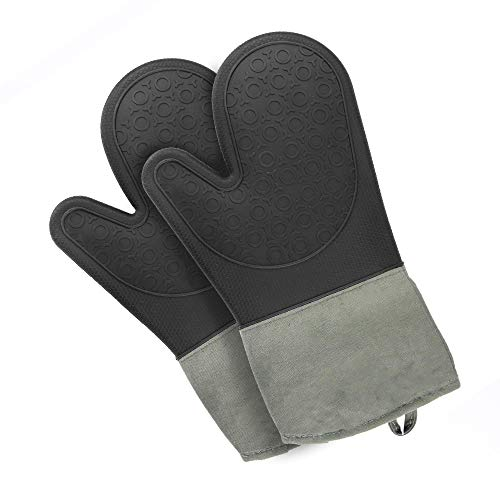 Conjunto 2 guantes silicona horno | Manopla horno