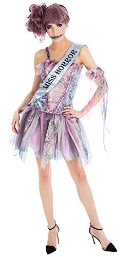 Miss Kostüm Zombie - Chaks h4156s, Kostüm Miss Horror Zombie Erwachsene, Größe S
