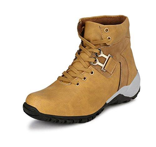 Elixir Man Men's Beige Trekking and Hiking Boots - 9 UK