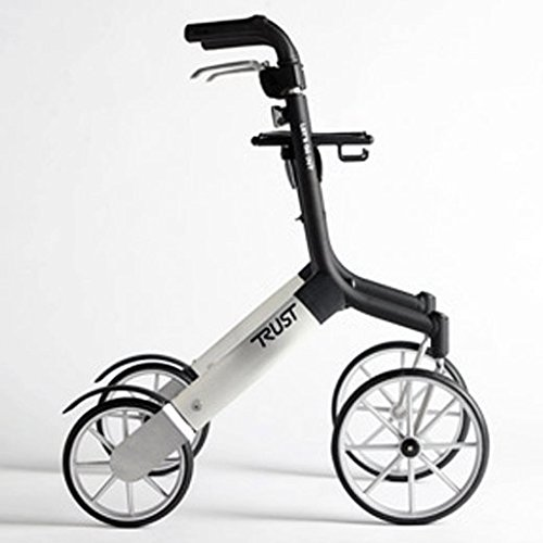 Trust Care Outdoor Rollator Let\'s Go Out schwarz silber