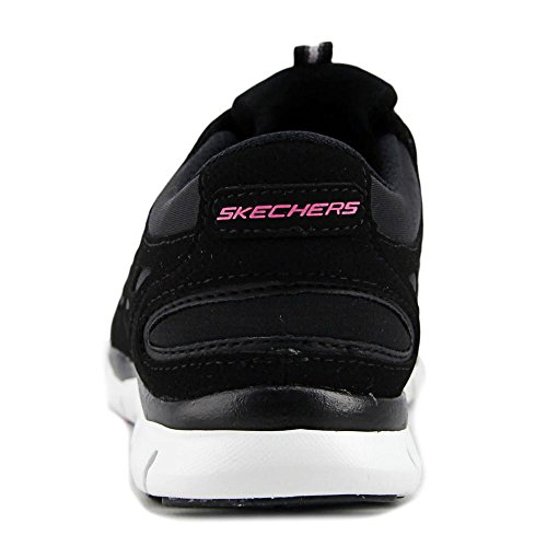 Skechers Womens/Ladies Gratis Sleek And Chic Sporty Casual Trainers Black-White