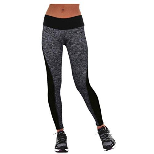 Tonwalk Women Girls Yoga Pants High Waist Leggings (M)