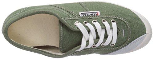 Kawasaki - Rainbow basic, Sneaker basse Unisex - Adulto Verde (Grün (Army green / 52))