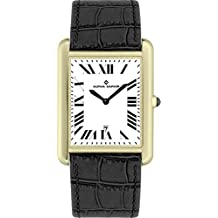 Alpha Saphir 342D - Reloj de cuarzo para hombres, color negro