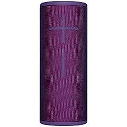 Ultimate Ears BOOM 3 Enceinte Bluetooth sans fil (son audacieux + basses intenses, Bluetooth, bouton magique, étanche, longévité de batterie de 15 heures, portée de 45 m) - Violet