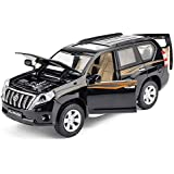 Maisto MoMo Toyota Land Cruiser Prado Niños Simulación Aleación Puerta Modelo de Coche Pullback Colección de