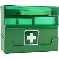 Pflasterspender 15,7 x 12,7 x 5,5 cm mit Wandhalterung 90 Pflaster, Ausführung:Pflasterspender Grün preisvergleich bei billige-tabletten.eu