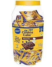 Pillsbury Cookie Cake Choco Trio, Jar of 48 Minis, 480g