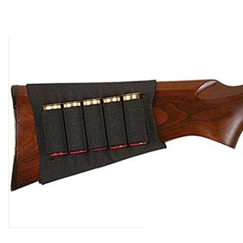 Support porte-cartouches pour crosse de fusil de chasse 5cartouches Calibre12/20