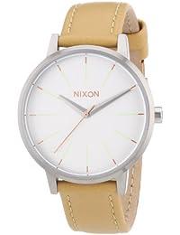 Nixon Damen-Armbanduhr Analog Quarz Leder A1081603-00