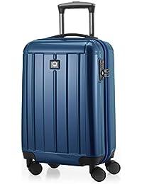HAUPTSTADTKOFFER - Kotti - Bagage à main cabine Valise Trolley 4 roues, TSA, 56 cm, 37 litres, brillant