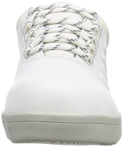 Sanita San-Chef Lace Shoe-s2, Chaussures de Sécurité Mixte Adulte Blanc - Weiß (White 1)