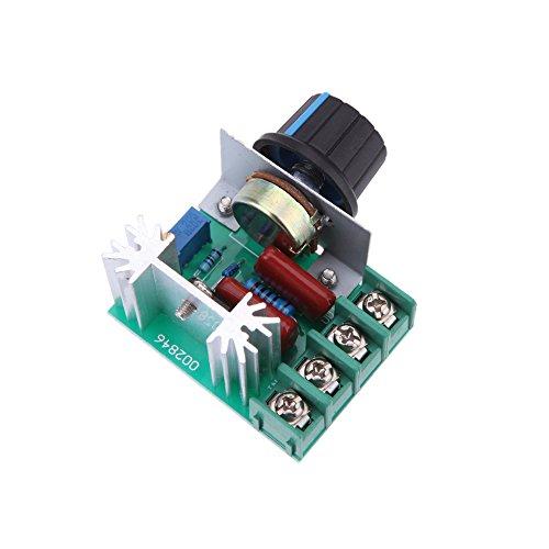 KKmoon Módulo regulador de 2000W 220V AC50 SCR alta potencia voltaje electrónico
