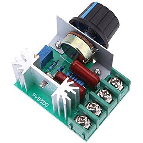 vyage (TM) 2000W elettronico SCR ad alta potenza AC50–220V regolatore di tensione Modulo 50V–220V 25A AC Motor Speed Controller