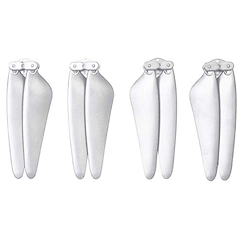 Desconocido Generic RC Quadcopter Spare Parts Two Pairs CW&CCW White Propeller Blade for SJRC F11