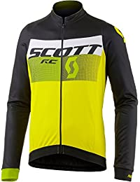Scott RC AS Invierno Bicicleta Camiseta Amarillo/Negro 2017: Tamaño: XL (54/56)