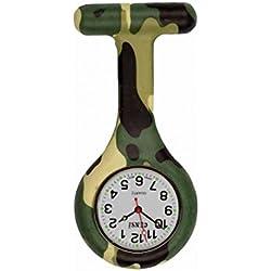 uWANTit / Censi Camoflage Infection Control Gel Silicone Nurse Fob Watch