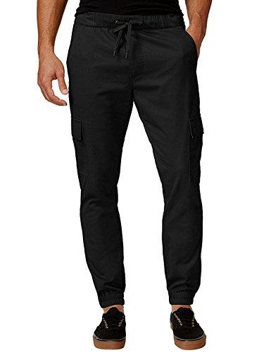 MODCHOK Herren Chino Jogginghose Sweatpants Jogging Freizeithose Cotton Hose Stoffhose