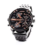 Hermosos Relojes Reloj de Hombre Oulm Correa Reloj Deportivo 3548