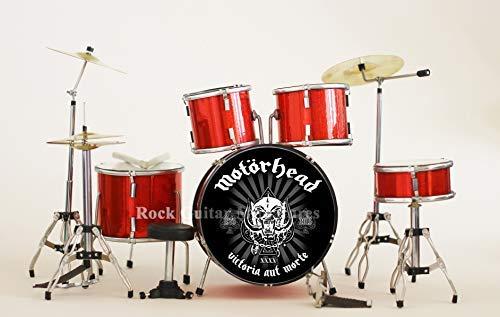 Rgm413 Motorhead Miniatur Schlagzeug Set (Motorhead Miniatures)