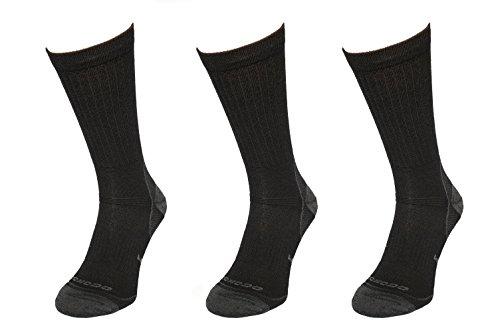 COMODO 3x SET - TRE6 Calzini da trekking - La zanzariera per i piedi | 65% Merino | Anti-Spuntare | Antizanzare | Anti-pulci | Calze di Metà | Calzini mezzo | Perfect Fit | Antibatterico | Anti-odori, Comodo/Mondo-Calza Größen:39-42