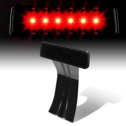 Preisvergleich Produktbild Suparee Jeep Wrangler JK Led High Mount Hinten Dritte Bremse Licht (Geräucherte Linse)