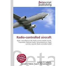 Radio-controlled aircraft: Radio- controlled aircraft, Radio control, Model aircraft, Transmitter, Receiver (radio), Servomechanism, Flight controls, Joystick, Radio-controlled model