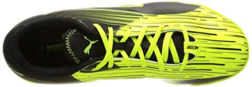 Puma Meteor Sala Lt, Chaussures de Futsal Homme Jaune (Safety Yellow/Black)