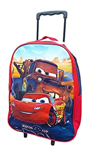 Kids Trolly Cabin Bag Suitcase with Wheels and Telescopic Handle - Ideal for short breaks, holidays, sleepovers and school trips