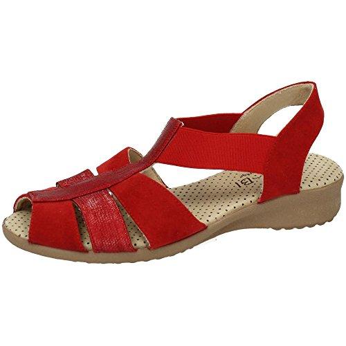 Vulca Bicha Donna sandali Rosso
